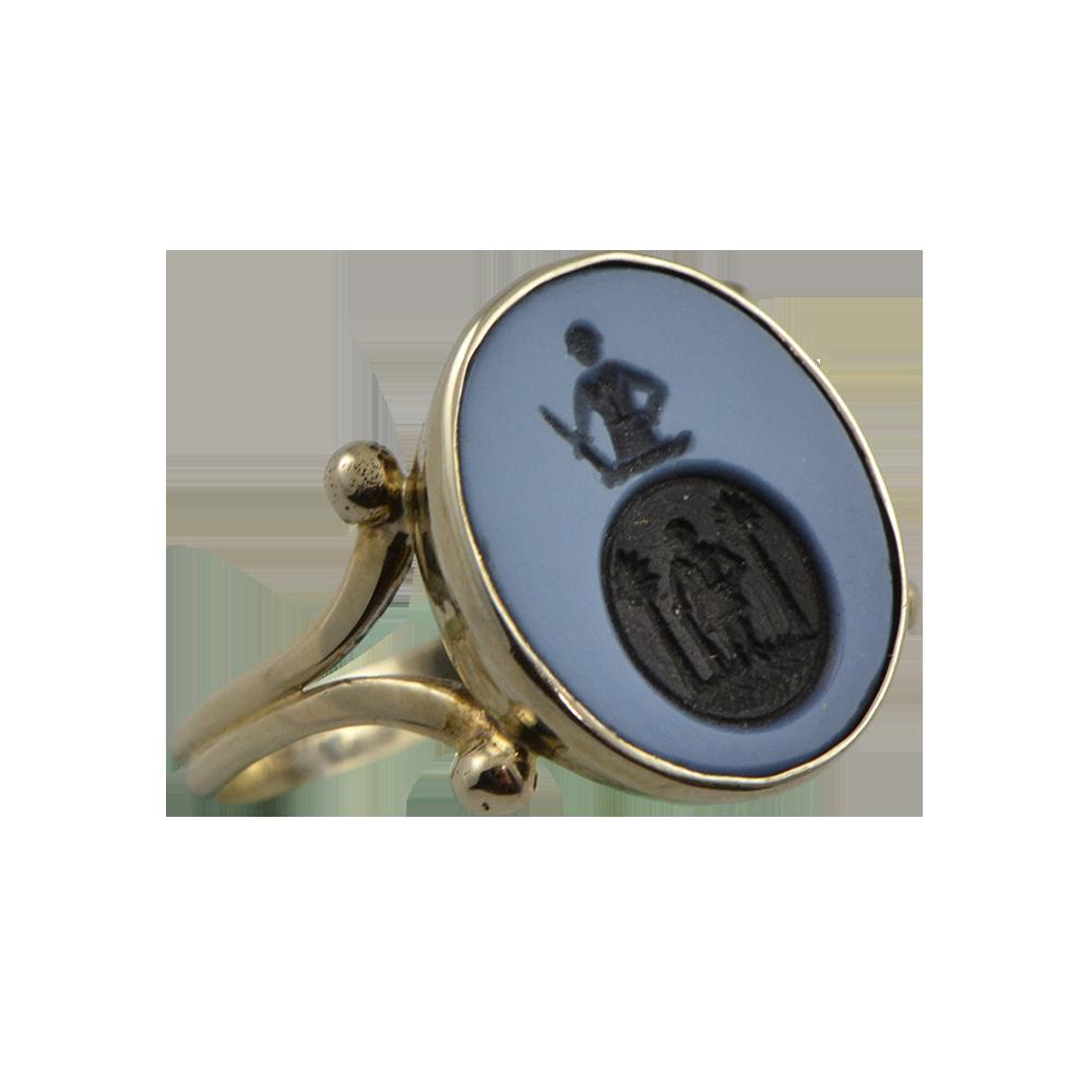 Rikkoert Juweliers Zegelring